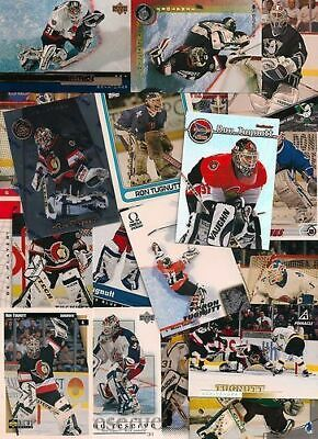 GREAT LOT of 10 RON TUGNUTT HOCKEY CARDS