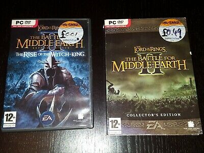 Lord Of The Rings Battle For Middle Earth 2 Collectors Rise Of The Witch-King PC