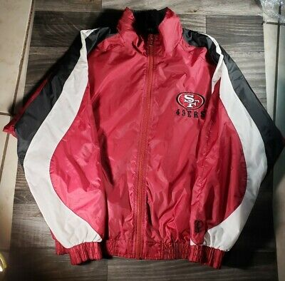 Nwt San Francisco 49ers Womens Pro Quality Zip-up Polar Fleece Jacket Red S-xl Activewear