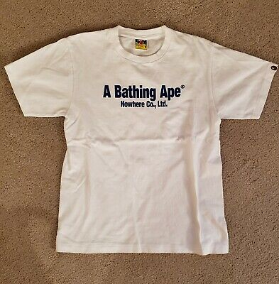 425d0958 Authentic Bape A Bathing Ape T-shirt Size S Handle With Care (Pre Owned