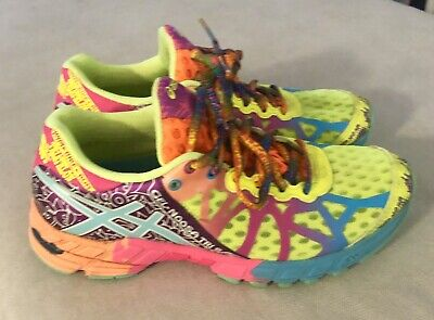ASICS GEL NOOSA TRI 9 Shoes Womens Multicolor Athletic Running T458N Size 5