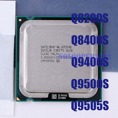 Intel Core 2 CPU Q8200S Q8400S Q9400S Q9505S Q9550S LGA775 Processor