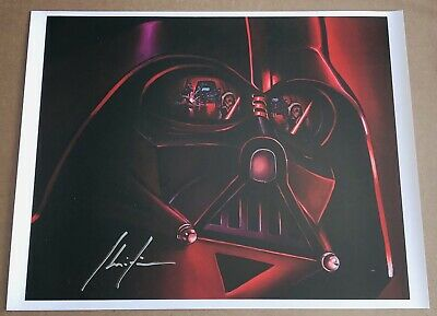 EXCLUSIVE Darth Vader STAR WARS Celebration CHRISTIAN WAGGONER Litho POSTER AFA