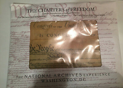 Historical Documents of Freedom Authentic Reproductions on Antiqued Parchment