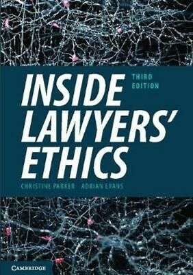 Inside Lawyers' Ethics 3E by Parker & Evans (Paperback, 2018)
