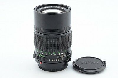 Excellent++ Canon New FD 135mm F/3.5 MF Lens From Japan!! 89585
