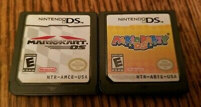 Mario Kart, Mario Party, DS Browser all for Nintendo DS / 2DS / 3DS