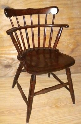 Windsor Back Chair, Antique, S. Bent Brothers, Inc