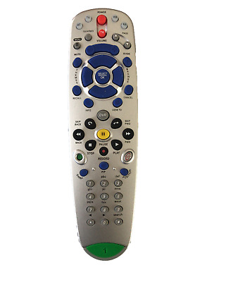 Dish Network 5.0 IR Replacement Remote Control 118575 TV1 with  TV VCR AUX