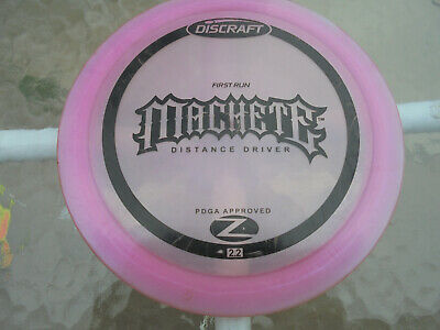 Discraft Z First Run Machete (Misprint) Frisbee Disc Golf - 175g