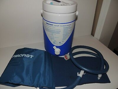 Aircast Cryo Cuff Back Hip Rib Cold Compression Therapy System Gravity Fed
