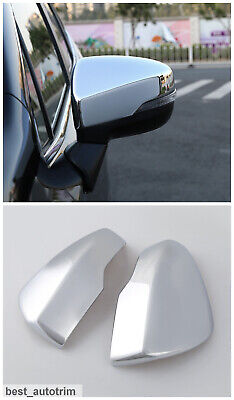 ABS Chrome Rearview Side Mirror Cover Trim 2pcs For Subaru Forester 2019 2020