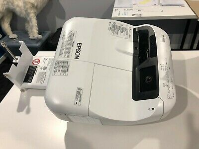 Epson EB-595Wi touch-enabled interactive projector (short throw)