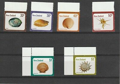 New Zealand 1981 Shell Definitives Set MNH
