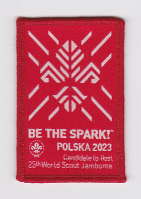 2015 World Scout Jamboree POLAND POLSKA SCOUTS Bids for 2023 WSJ OFFICIAL PATCH
