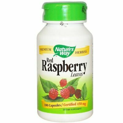 Nature's Way Red Raspberry Leaves 450 mg 100 caps