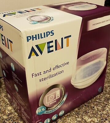 Philips Avent Microwave Steam Sterilizer **BRAND NEW**