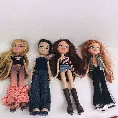 BRATZ Dolls With Clothes And Shoes Bundle Accessories, With Boy. #F