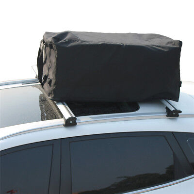 Car Top Carrier Waterproof Roof Top Cargo Rack 9 Cubic Feet for Travel Vehicles