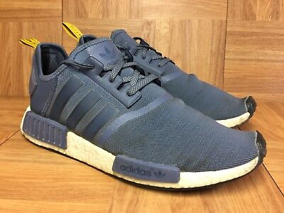 new product b99bb 4b14a RARE🔥 Adidas Originals NMD R1 Boost Nomad Tech Ink White Sz 11 S31514 Men s  Sho