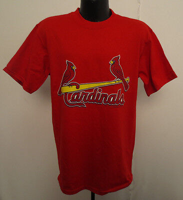 5f4a1074 ST LOUIS CARDINALS Shirt Mlb Baseball Printed Csa Mens National League Red  New