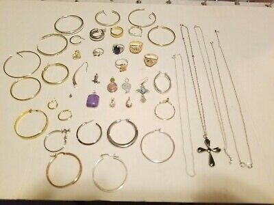 925 Sterling Silver Jewelry Wear Scrap Lot 132.5 Grams