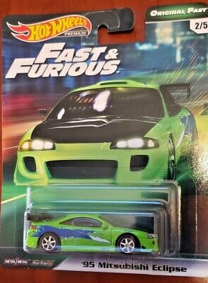 2019 Hot Wheels Fast & Furious '95 MITSUBISHI ECLIPSE Original Five IN HAND