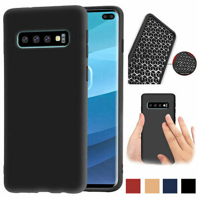 Shockproof Ultra Thin Soft TPU Phone Case Cover For Samsung Galaxy S10 Plus S10e