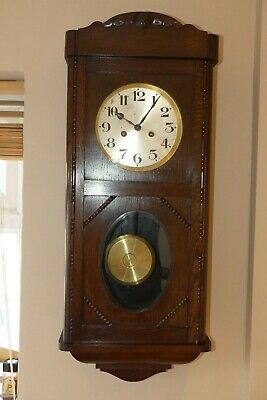 Fine Original Antique Gustav Becker Wall Clock