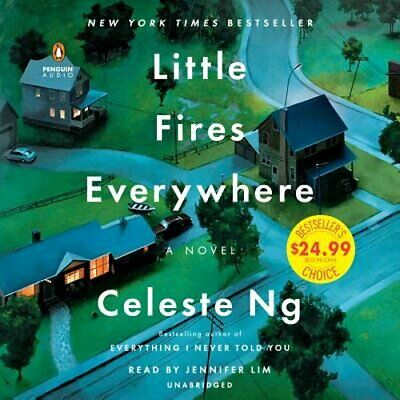 Little Fires Everywhere by Celeste Ng: New Audiobook