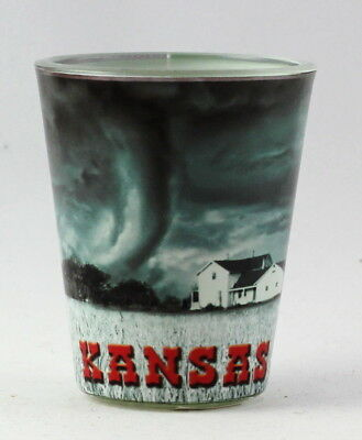 Kansas Tornado Scene Shot Glass rtp