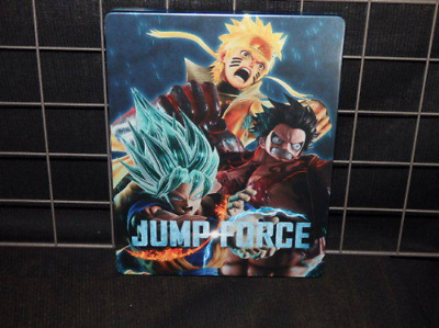 JUMP FORCE PlayStation 4 Geo Limited Steel Book Only Luffy Gokou Naruto Japan