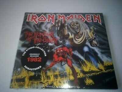 Iron Maiden - The Number Of The Beast  Remastered Cd New And Sealed 2018