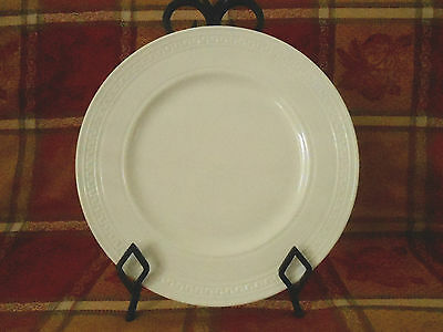 "Wedgwood Bone China INTAGLIO Set of 4 White 10-3/4"" Dinner Plates New w/Tags"