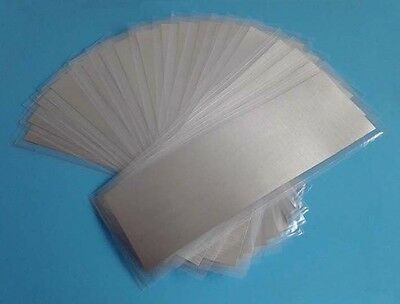 Indium foil 99.995% Size:100mm x 100mm x 0.125mm 1piece free shipping