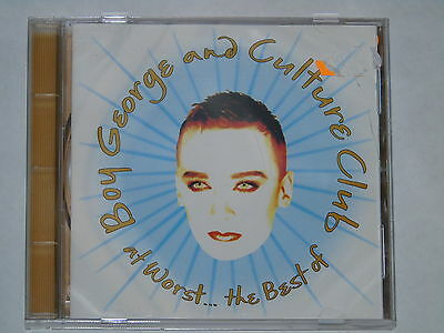BOY GEORGE & Culture Cd At Worst The Best Of Club Glam Pop