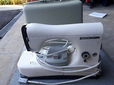 sewing machine necchi lydia mk2. in excellent condition. with case. see pic