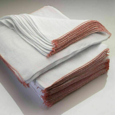 Jumbo Kitchen Bar Cleaning Dish Cloths Extra Large 36x42 White Cotton Supersoft