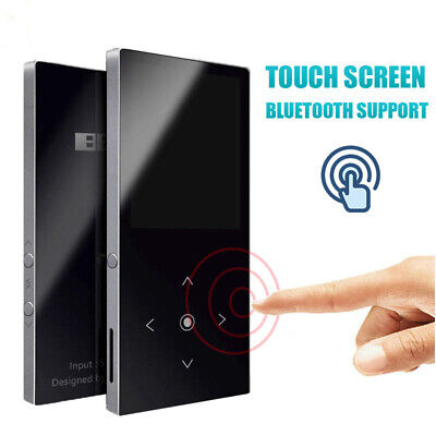 """Portable Mini MP3 Music Player 1.8"""" LCD Touch Screen with Speaker Support 64GB"""