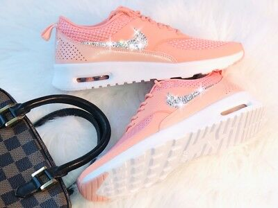 WMNS NIKE AIR Max Thea PRM Crimson mit Swarovski Elements