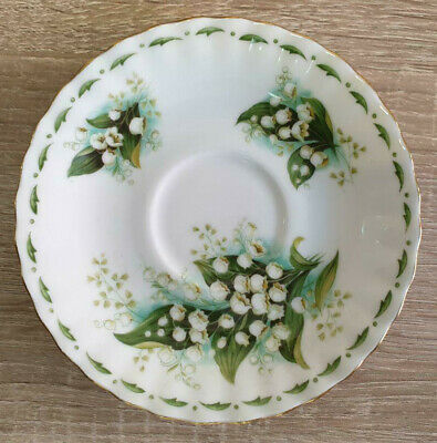 Royal Albert Flower of the Month Lilly of the Valley Untertasse