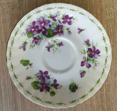 Royal Albert Flower of the Month Violets Untertasse