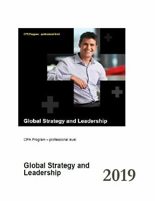 CPA GSL - Global Strategy and Leadership High Distinction Notes 2019