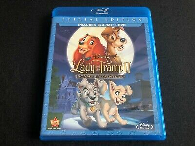 Lady And The Tramp Ii 2 Special Edition Blu Ray Dvd 2 Disc Set No Digital Disney
