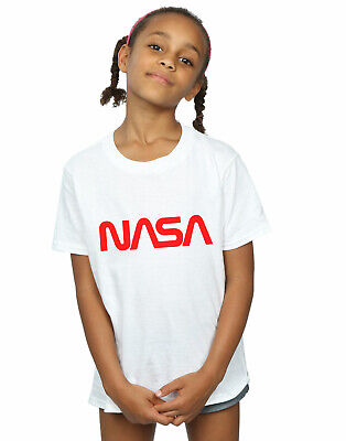NASA Fille Modern Logo T-Shirt