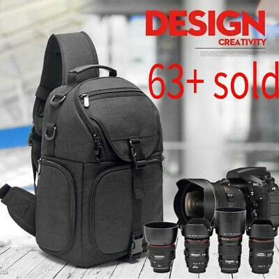 Waterproof Camera Storage Bag Carrying Backpack for Canon Nikon Sony DSLR Camera