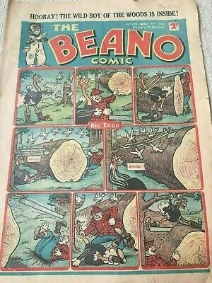 Vintage Beano Comic - Issue No. 136 - March 1St 1941 - Back Page Missing