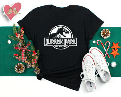 JURASSIC PARK T shirt Theme Party Kids Adults Dinosaur World Retro Movie Tops