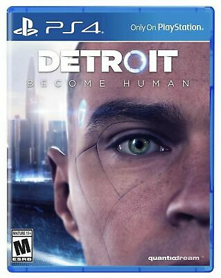 Detroit Become Human (PlayStation 4, PS4)
