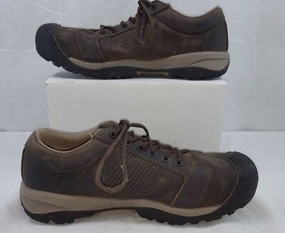 fb669aad68b KEEN Utility 1017824 Men s La Conner ESD Aluminum Toe Cascade Brown 11EE